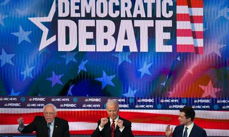 image for Democratic Presidential Hopefuls Duke It Out In South Carolina Primary