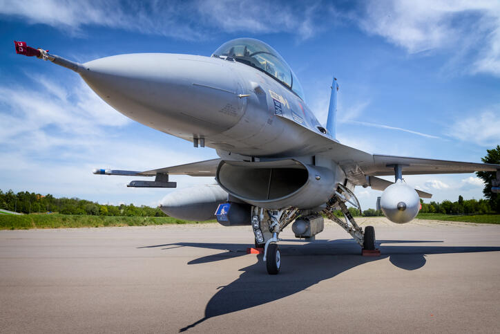 This F-16 Jet Can Fly By Remote Control | The Sports Feed | Newsradio WTAM 1100