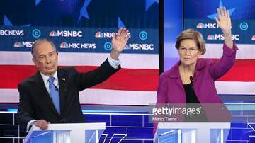 image for Senator Elizabeth Warren Goes In On Mike Bloomberg During Debate