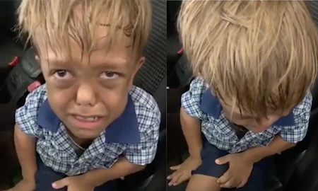 image for Mom Shares Heartbreaking Video Of Bullied 9-Year-Old Son