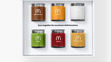 image for McDonald's Releasing Candles That Smell Like Quarter Pounder Toppings