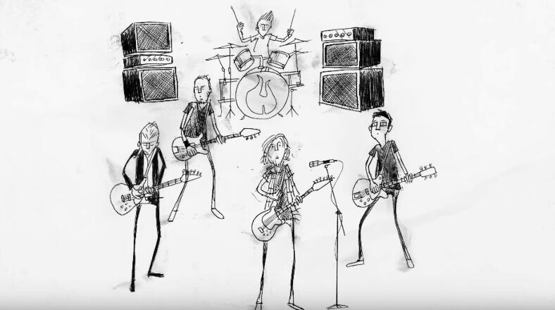 Pearl Jam Gets Animated For New Video 'Superblood Wolfmoon' | iHeartRadio