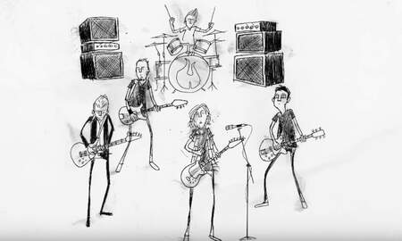 image for Pearl Jam Gets Animated For New Video 'Superblood Wolfmoon'
