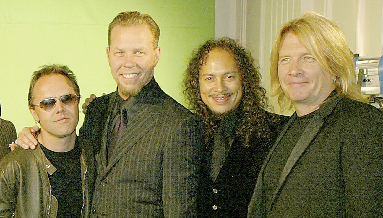 Metallica's Black Album Producer Was Confused By 'And Justice For All' Mix | 94.5 The Buzz