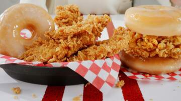 image for KFC Now Selling Donut Fried Chicken Sandwich Nationwide