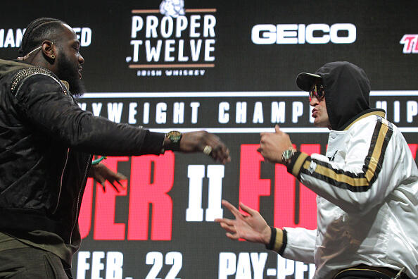 WATCH: Fury & Wilder Meet Before Big Boxing Match, In War Of Words | Ronnie And TKras | 95.3 WDAE