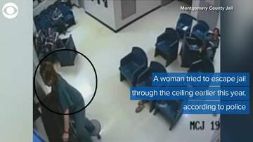image for SUPER FAIL! Woman attempts jail escape through ceiling