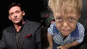 image for Hugh Jackman, Other Celebrities Reach Out To Bullied 9-Year-Old