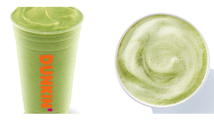 Dunkin' Just Added Matcha Lattes To Their Menu Nationwide | 106.7 Lite fm