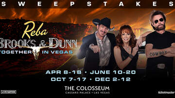 image for Reba, Brooks & Dunn: Together in Vegas Sweepstakes Rules