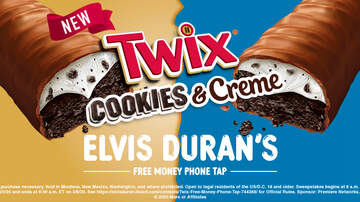 image for Elvis Duran Show's TWIX Cookies and Creme®Free Money Phone Tap Rules