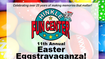 image for 11th Annual Easter Eggstravaganza At Hinkle Family Fun Center