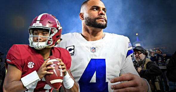 Cowboys Should Let Dak Prescott Walk and Trade Up to Draft Tua Tagovailoa | The Herd with Colin Cowherd | FOX Sports Radio