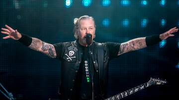 image for Watch James Hetfield's first live performance post-rehab