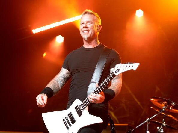 James Hetfield Makes Post Rehab Return At Eddie Money Tribute (WATCH) | Christie James | iHeart80s @ 103.7
