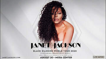 image for Janet Jackson - Black Diamond Tour - 8/20 @ Moda Center