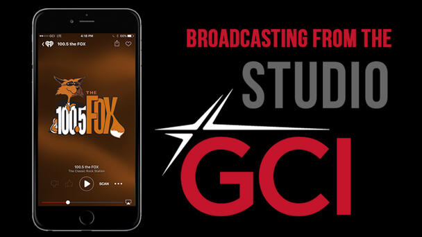 LISTEN LIVE: Broadcasting From The GCI Studio