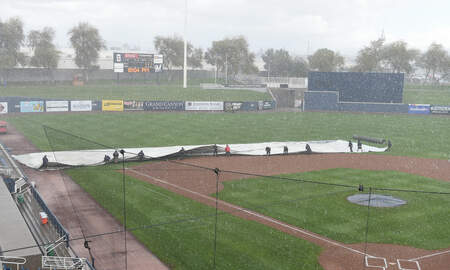 image for Brewers Spring Training opener cancelled due to rain