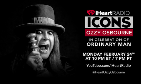 image for Ozzy Osbourne To Celebrate 'Ordinary Man' With iHeartRadio ICONS Event