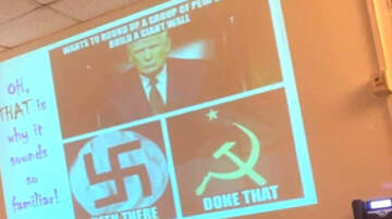 image for High School History Lesson Compares President Trump To Nazis, Communists