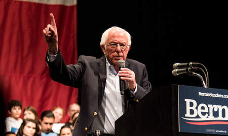 image for Bernie Sanders Wins Nevada Democratic Caucuses