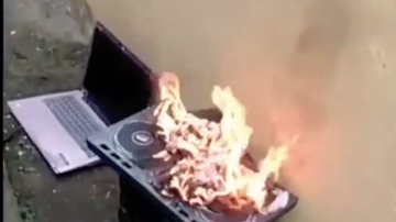 image for DJ Gets His Equipment & Clothes Burned After Cheating On His Girl
