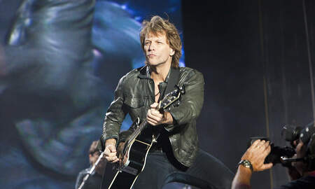 image for Jon Bon Jovi updates song to benefit charity