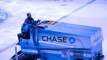 image for Zamboni Driver Helps NHL Team Win Their Game