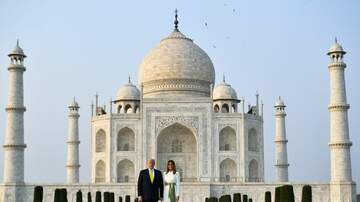 image for Trumps Visit Taj Mahal