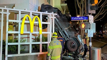 image for 20-Year-Old Man Accidentally Drives Car Off Six-Story Parking Garage