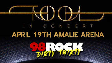 image for 98ROCK Welcomes TOOL Back To Tampa Bay