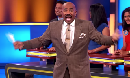 image for Family Feud Contestant's Answer Is So Wrong Steve Harvey Walks Off The Set