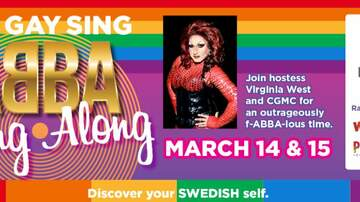 image for Columbus Gay Men's Chorus Big Gay Sing ABBA Sing Along