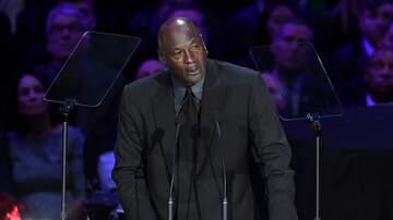 image for MJ Cracks Joke About Crying Jordan Meme at Kobe Tribute