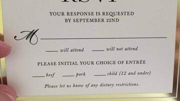 image for This Wedding RSVP Card Went Viral For This Hilarious Menu Mistake