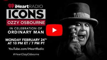 image for WATCH: OZZY Live With David Draiman From Our iHeartRadio Studios At 10pm