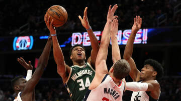 image for Bucks outlast Wizards in overtime, 137-134