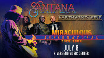 image for Santana and Earth, Wind & Fire @ Riverbend Music Center