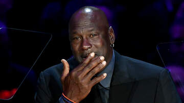 image for Michael Jordan Gives an Emotional Speech of Celebration of Kobe and Gianna