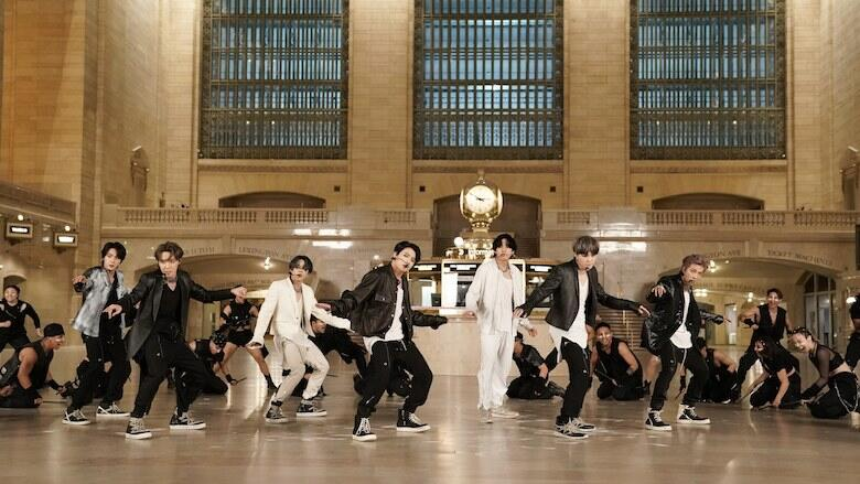 BTS Take Over NYC's Grand Central Terminal To Perform 'ON': Watch | Z100