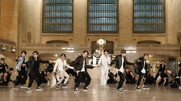 image for BTS Take Over NYC's Grand Central Terminal To Perform 'ON': Watch