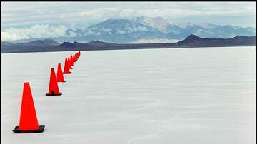 image for Youtuber Thinks the Bonneville Salt Flats Prove the Earth Is Flat (Watch)