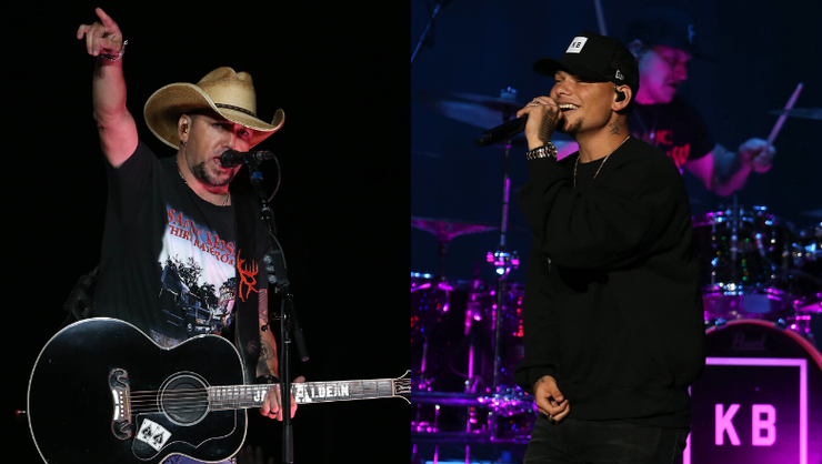 Kane Brown Surprises Fans, Joins Jason Aldean To Perform 'Dirt Road Anthem'