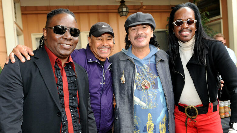 Santana & Earth, Wind & Fire Announce Joint Summer Tour: See The Dates