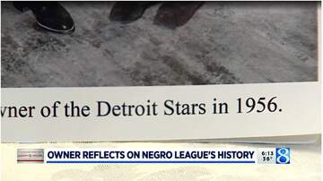 image for Owner reflects on Negro League's history