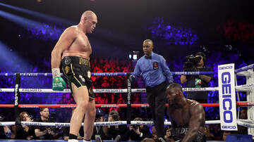 image for Deontay Wilder Blames 40 Pound Costume For His Loss