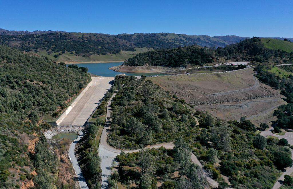 California Orders Reservoir Near San Jose Drained Over Earthquake Concerns   KFI AM 640