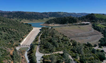 image for Feds Say California Reservoir Needs to be Drained Over Earthquake Concerns
