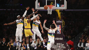 image for LeBron's 40 Points Helps Lift Lakers Past Pelicans, 118-109