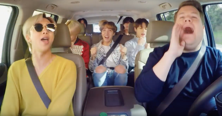 BTS Covers Bruno Mars, Leads a Dance Class & More During Carpool Karaoke | Z100